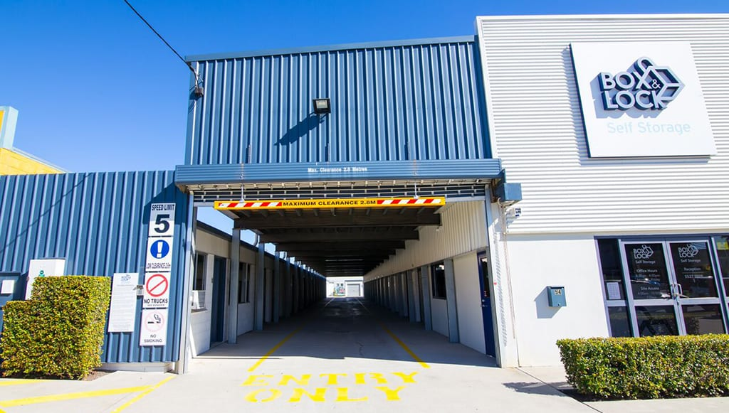 Box & Lock Self Storage | Front Image of Facility