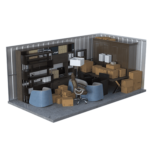 Large Unit Size | Office Storage