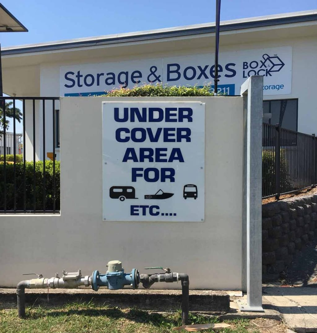 Box & Lock Facility Image | Self Storage Facility