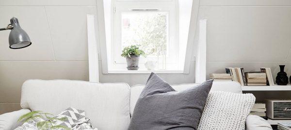 White colored interiors