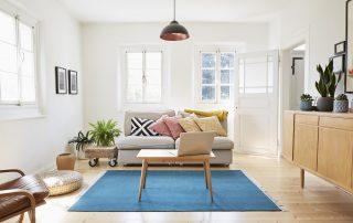 Light colored interiors